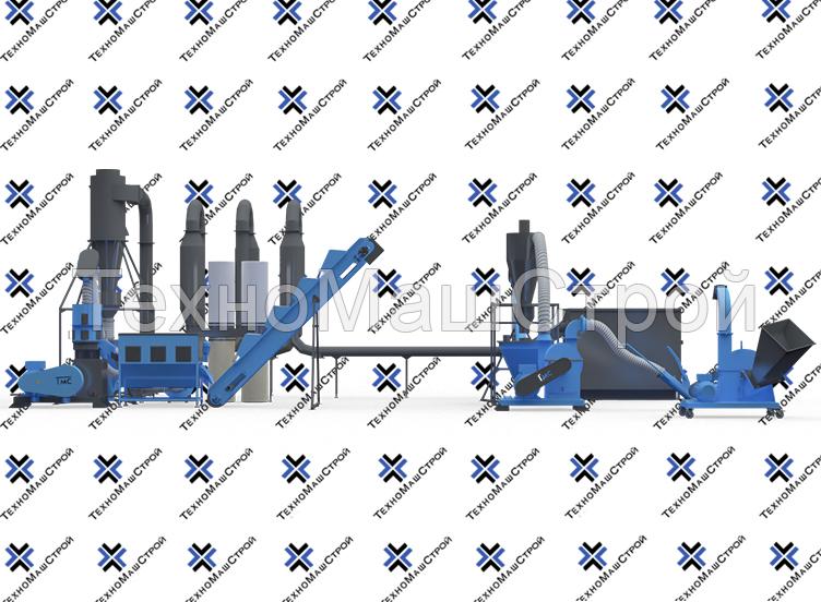 Мини завод для производства пеллет